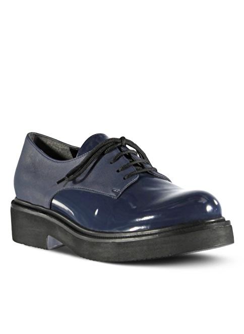 Marjin  Düz Ayakkabı Lacivert
